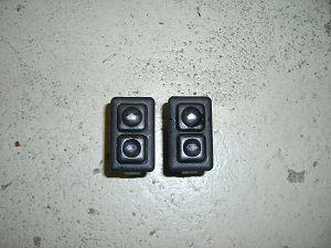 2 x Schalter für elektrische Fensterheber efH