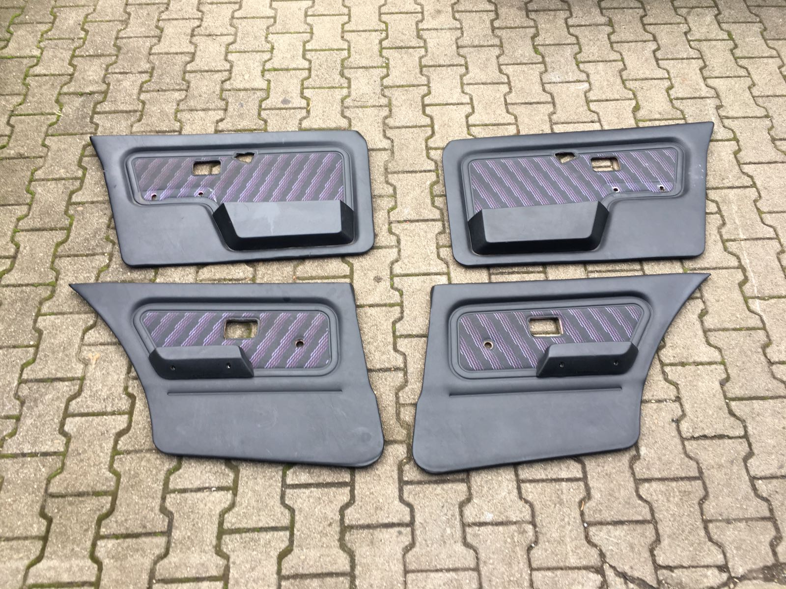 Türverkleidung Türpappen Design Edition lila 4 Türer