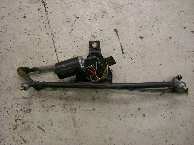 Scheibenwischergestange + Scheibenwischermotor