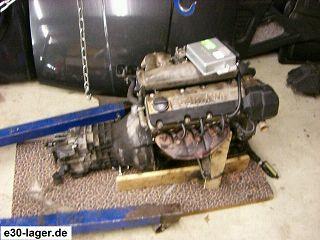318i Motor M40 + Getriebe