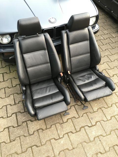 Cabrio Ledersitze Sporsitze