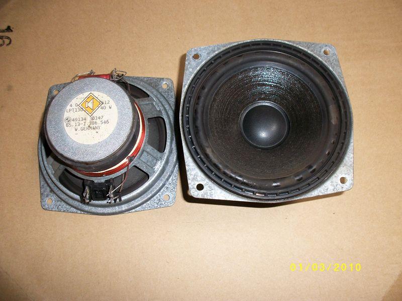 Soundsystem M Technik Lautsprecher vorne
