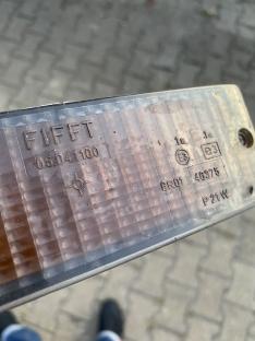 schwarze Blinkergläser FIFFT