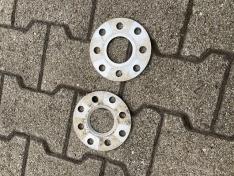 H&R DR Spurplatten Spurverbreiterung Distanzscheibe MZ Ø57,1 4×100 10mm // 2x5mm