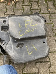 Kofferraumverkleidung Cabrio links VFL